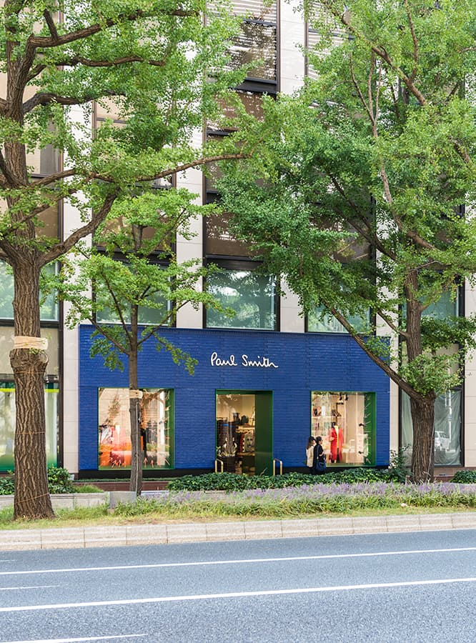 Paul Smith Opens New Flagship Shop in Osaka