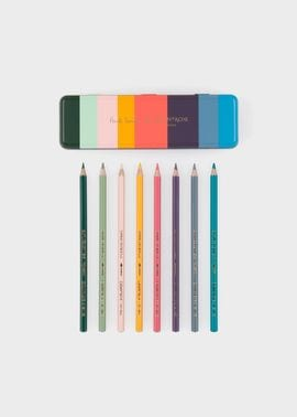 Paul Smith and Caran d'Ache 色鉛筆ボックスセット