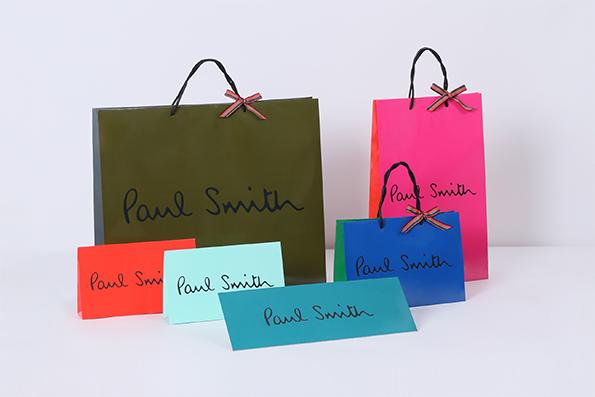 Paul Smithのショップ袋
